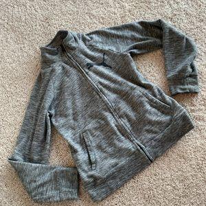 Grey Puma turtleneck jacket